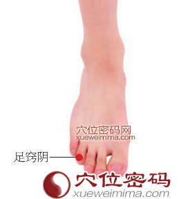 足窍阴穴的准确位置图