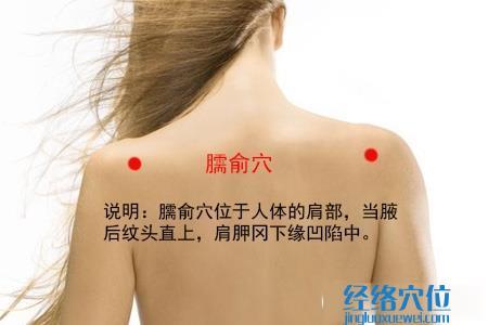 (原创)人体穴位一颈部肩部(13)臑俞穴