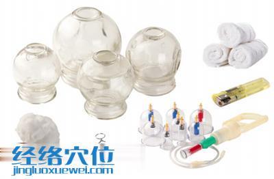 准备工具:火罐,气罐、拔罐器、止血钳、酒精棉球、打火机、热毛巾。