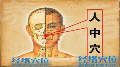 人中穴的位置图