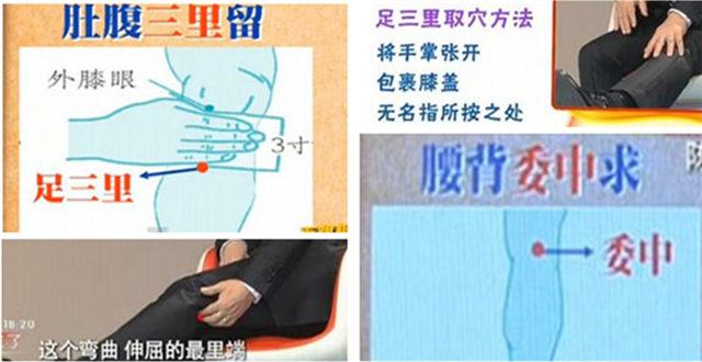 人体常用穴位自助按摩视频